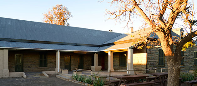 Grantham Environmental Education Centre at the Karoo National Park : SANParks