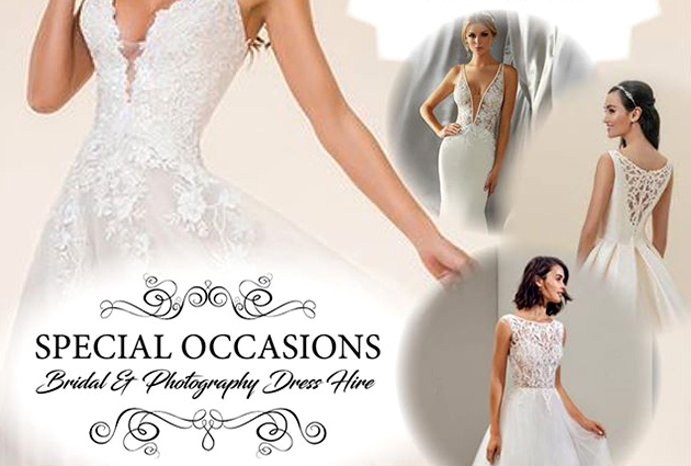 SPECIAL OCCASIONS BRIDAL & PHOTOGRAPHY DRESS HIRE