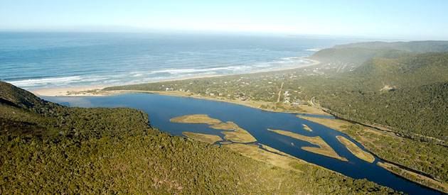 Natures Valley, in the Western Cape province of South Africa