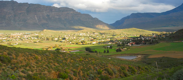 Barrydale, in the Western Cape, South Africa